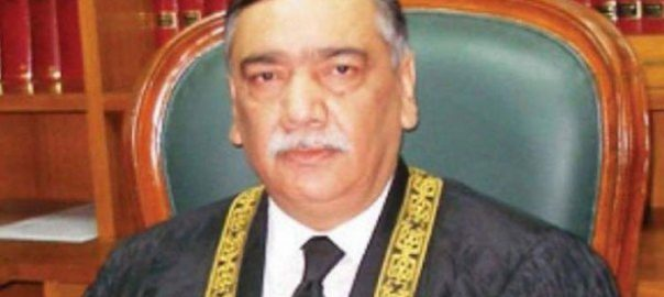 CJ CJP imprisonment chief justice of Pakistan life sentence Asif Saeed KhosaCJP Justice Saeed Khosa false testimony Khiza hayat ASI Narowal