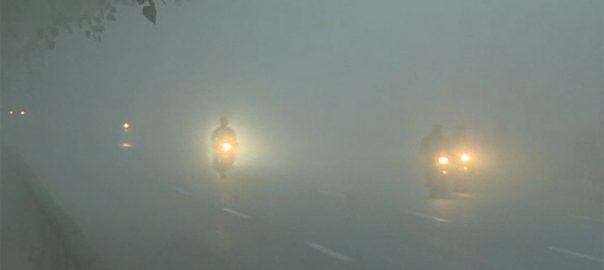 Fog, cities, Punjab