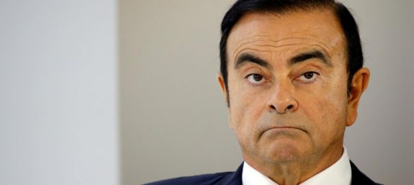 Nissan, Renault, boss, Carlos Ghosn, Japan, bullet train ride, Tokyo, Osaka