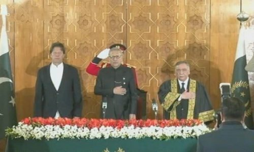 26th CJP CJP Justice Asif Saeed Khosa Justice Khosa New CJP Oath-taking ceremony