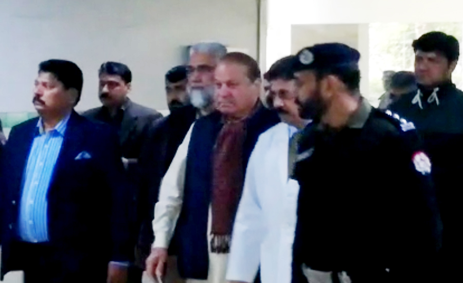 Medical board recommends Nawaz Sharif's admission to hospital