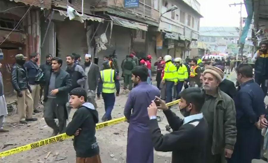Six injured in a blast in Peshawar's Kali Bari market