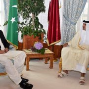 PM PM Imran KHan Qatri PM Sheikh Tamim bin Hamad Al Thani Amiri Diwan Doha