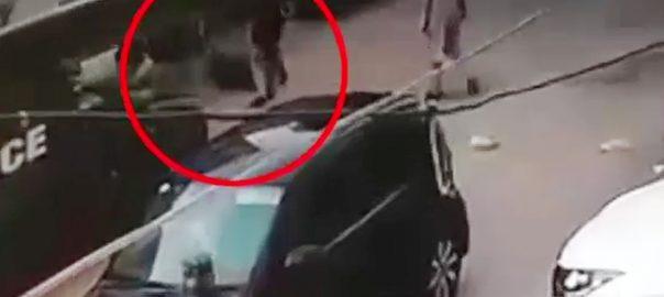 Munawwar Sohail karachi firing Police negligence Karachi bahadurabad
