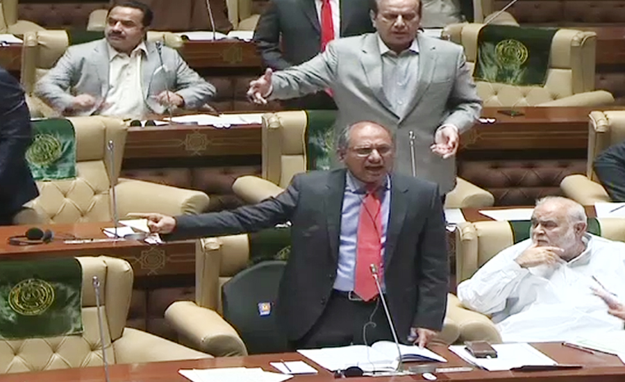 Ruckus in Sindh Assembly as 'offensive language' by minister