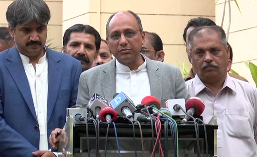 Will quit ministry but won't raze buildings, says Saeed Ghani