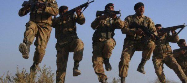 Security security forces oreakzai ISPR Hangu teerorists Pakistan Army