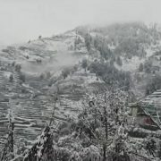 Hilly areas, snowfall, mountainous areas, rain, cloudy