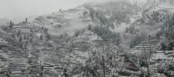 Hilly areas, snowfall, mountainous areas, rain, cloudy