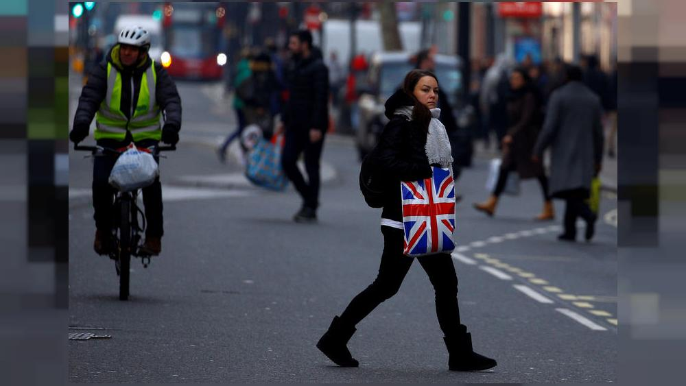 UK shops' December sales fall for sixth straight year: survey