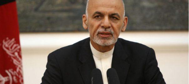 Ashraf Ghani Afghan president Taliban Moscow US taliban