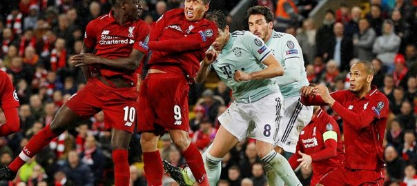 Solid Anfield smart Bayern Liverpool Bayern