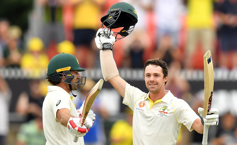 Burns, Head smash big tons to put Australia in charge against Sri Lanka