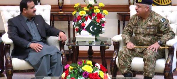 Corps Commander Lahore, Majid Ehsan, Punjab CM, Usman Buzdar