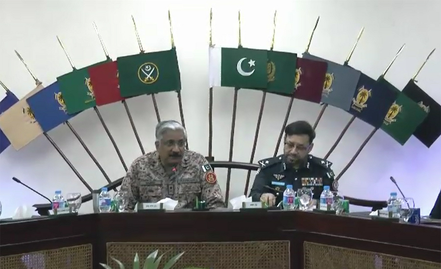 DG Rangers Sindh Muhammad Saeed reviews recent incidents of target-killing