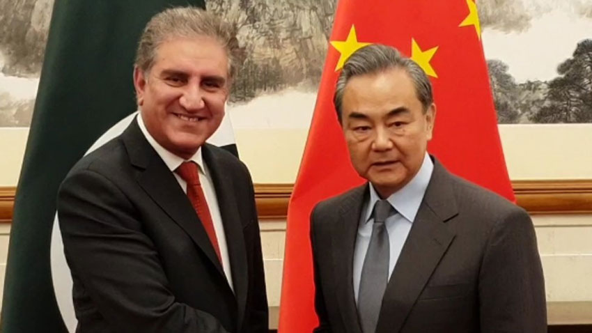Chinese FM appreciates Pakistan's efforts for peace in region
