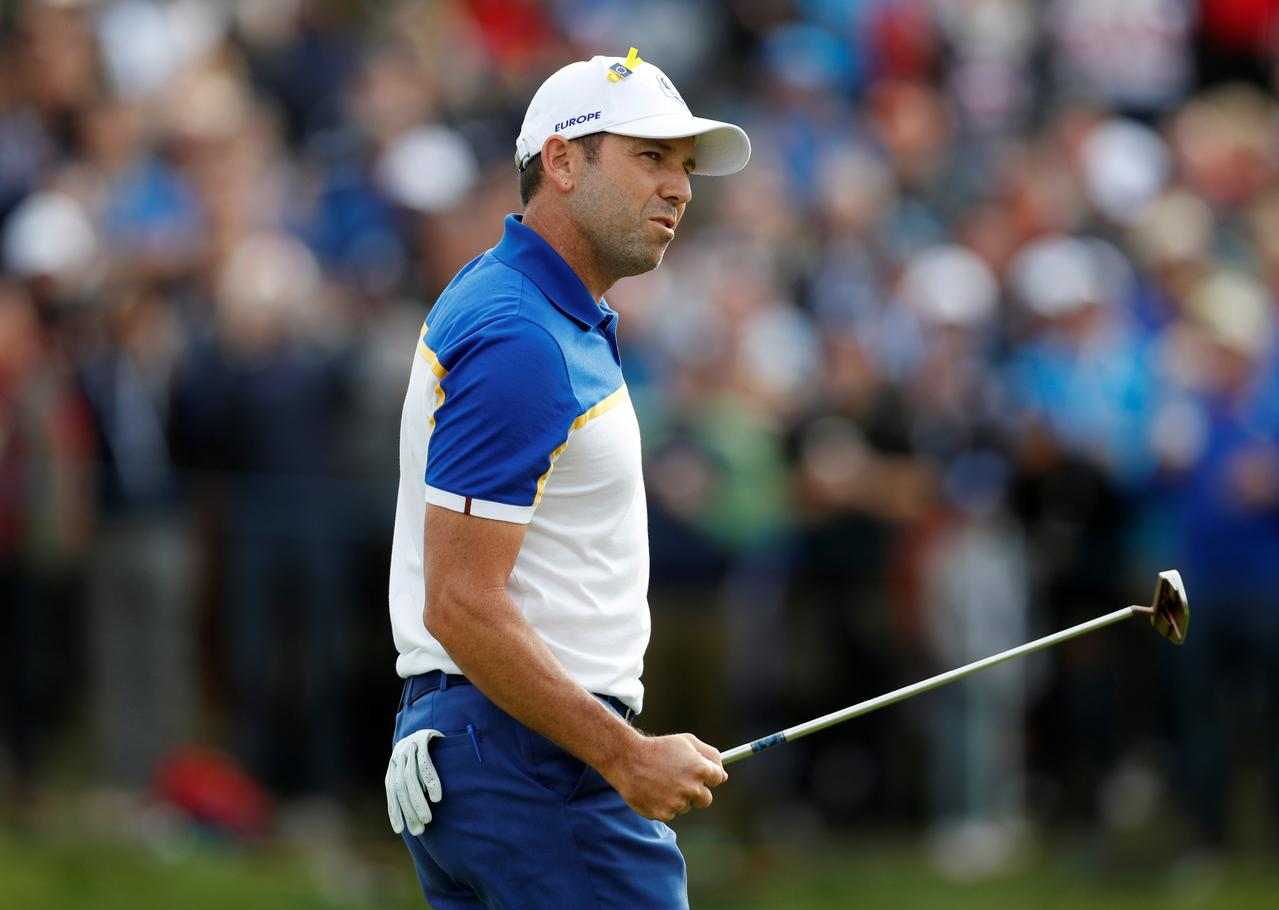 Garcia disqualified from Saudi International for damaging greens