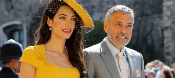 George Clooney Diana harassed Meghan