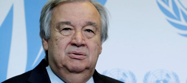 Antonio Guterres, welcomes, release, Indian pilot