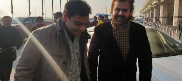 LHC, Hamza Shehbaz, London, stay, 14 days