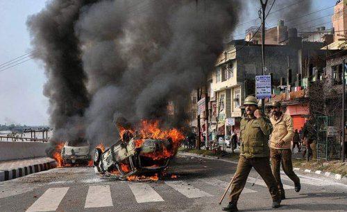 Strike, IHK, attacks, Hindu fanatics