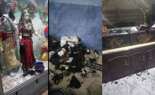 PM  PM Imran Khan  Imran Khan  Hindu temple  Sindh Temple  temple vandalism  books desecrated