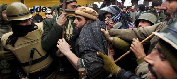 Indian Indian forces Yasin Malik Article 35 IHK Indian Held Jammu Kashmir