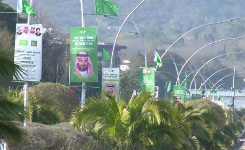 Islamabad, festive, visit, Saudi Crown Prince, Mohammed bin Salman