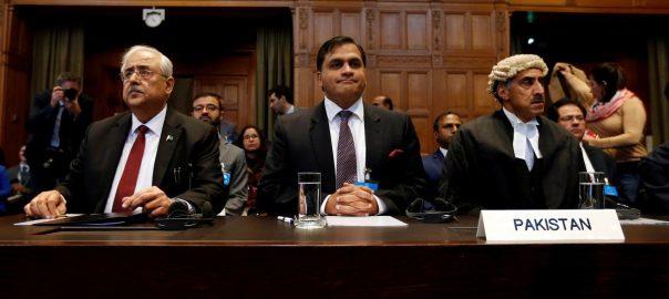 Jadhav Kulbhushan Jhadav. Khawar ICJ International Court of Justice (ICJ) Hague Indian conse