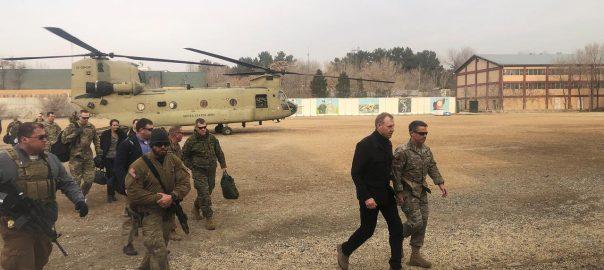 Pentagon, chief, Afghanistan, Kabul, peace talks