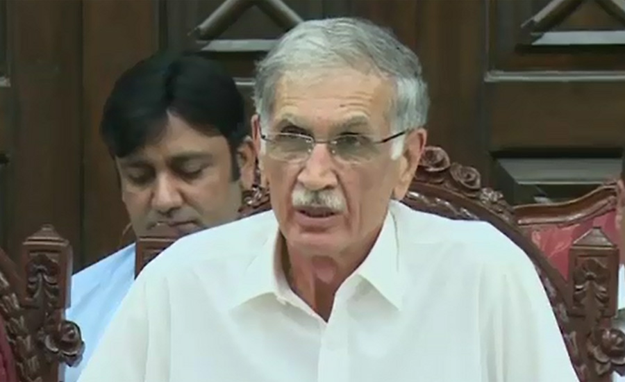 Indian violation of LOC unacceptable, says Defence Minister Pervaiz Khattak