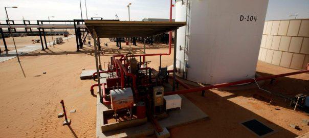 Eastern, Libyan, El Sharara, oilfield