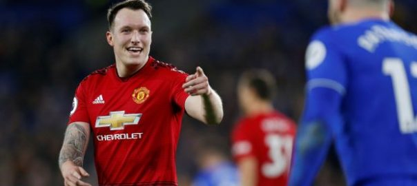 MANCHESTER UNITED PHIL JONES PREMIER LEAGUE FA CUP EUROPA LEAGUE