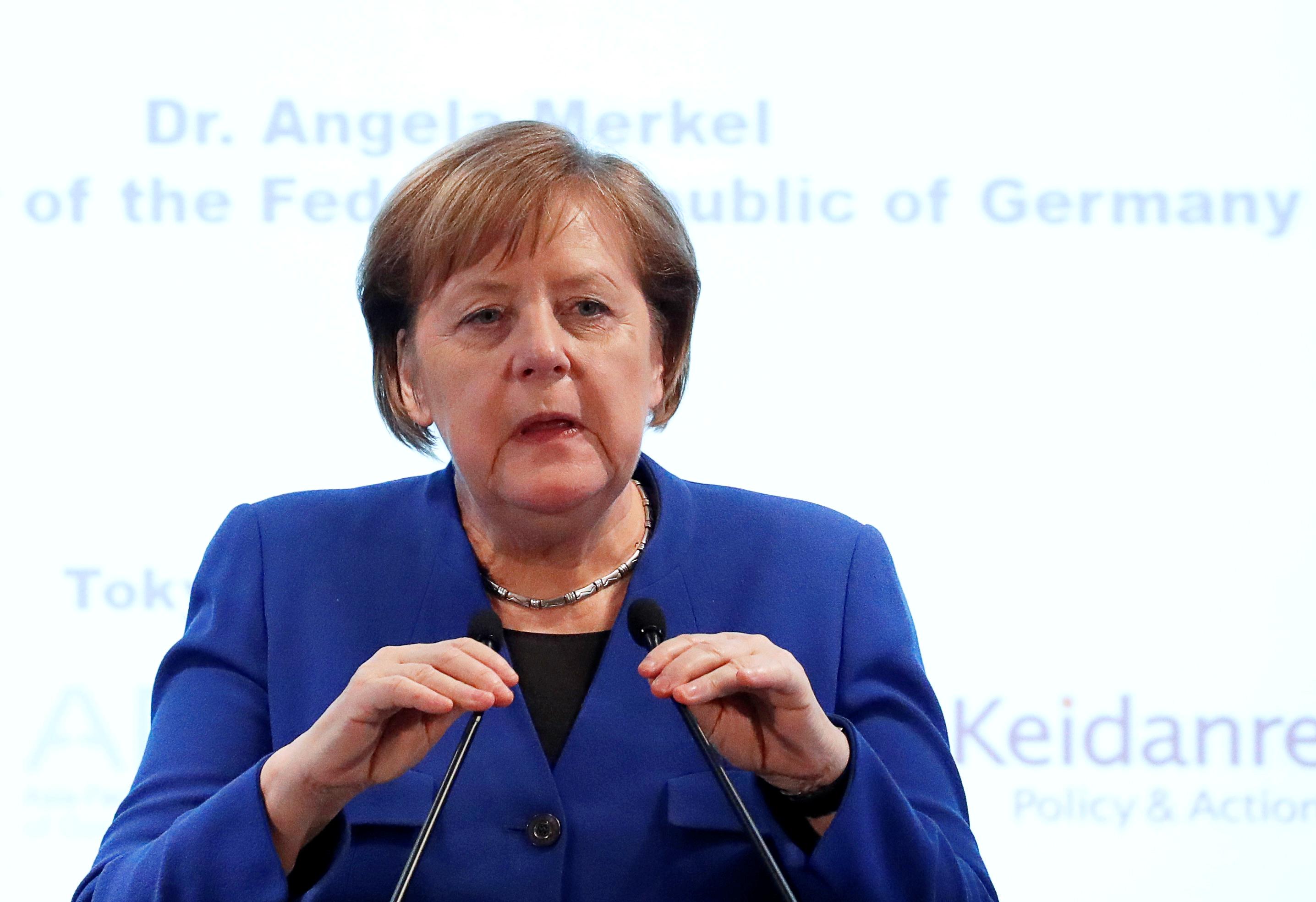 Merkel says still time for Brexit solution