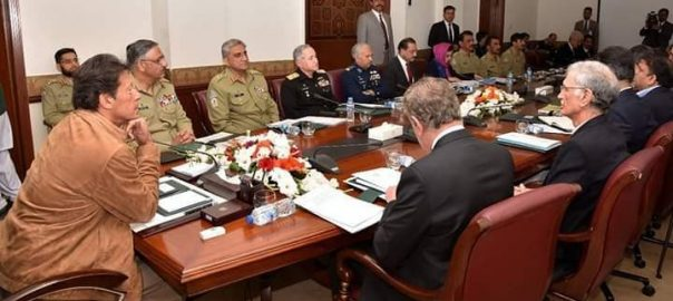 PM PM Imran KHan NCA NSC National Command Authority