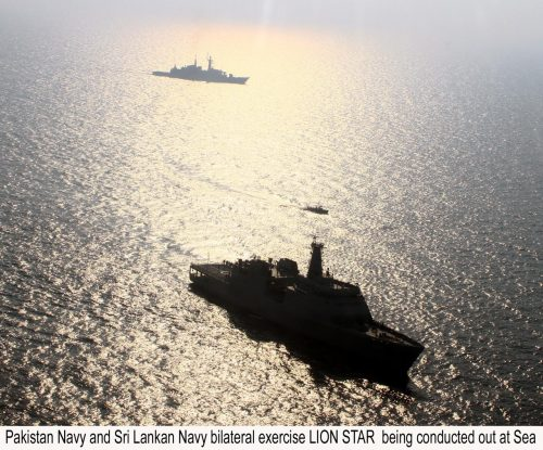 Pakistan, Sri Lanka, Bilateral, Naval Exercise, `Lion Star'