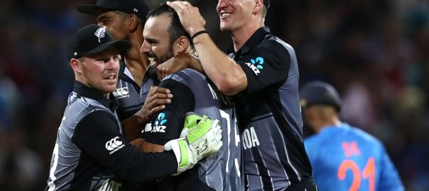 New Zealand India ICC T20 series