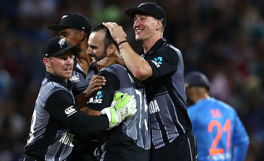 New Zealand win last-over thriller to secure T20I series victory over India