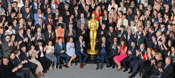 Oscar nominees Oscar photo lunch diversity feted