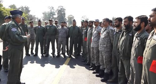 PAF Mujahid Anwar Khan Pakistan Air Force Chief of the Air Staff