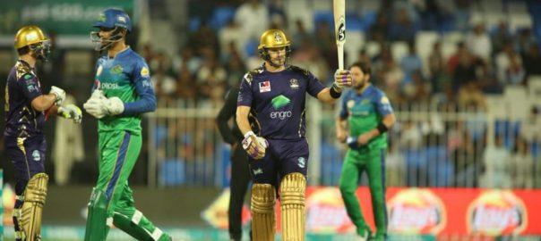Quetta Gladiators, 8-wicket win, Multan Sultans, PSL 4