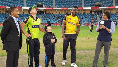 PSL PSL 2019 Peshawar Zalmi Lahore Qalanadar Lahore Peshawar De viller