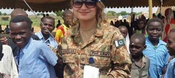 Pakistan FO DR Faisal UN Peacekeeping Missions female deployment