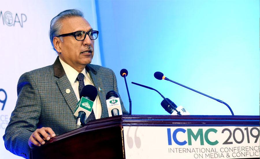 Resolution of Kashmir issue mandatory for peace: President Dr Arif Alvi