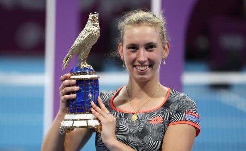 Mertens, Halep, Qatar Open, title