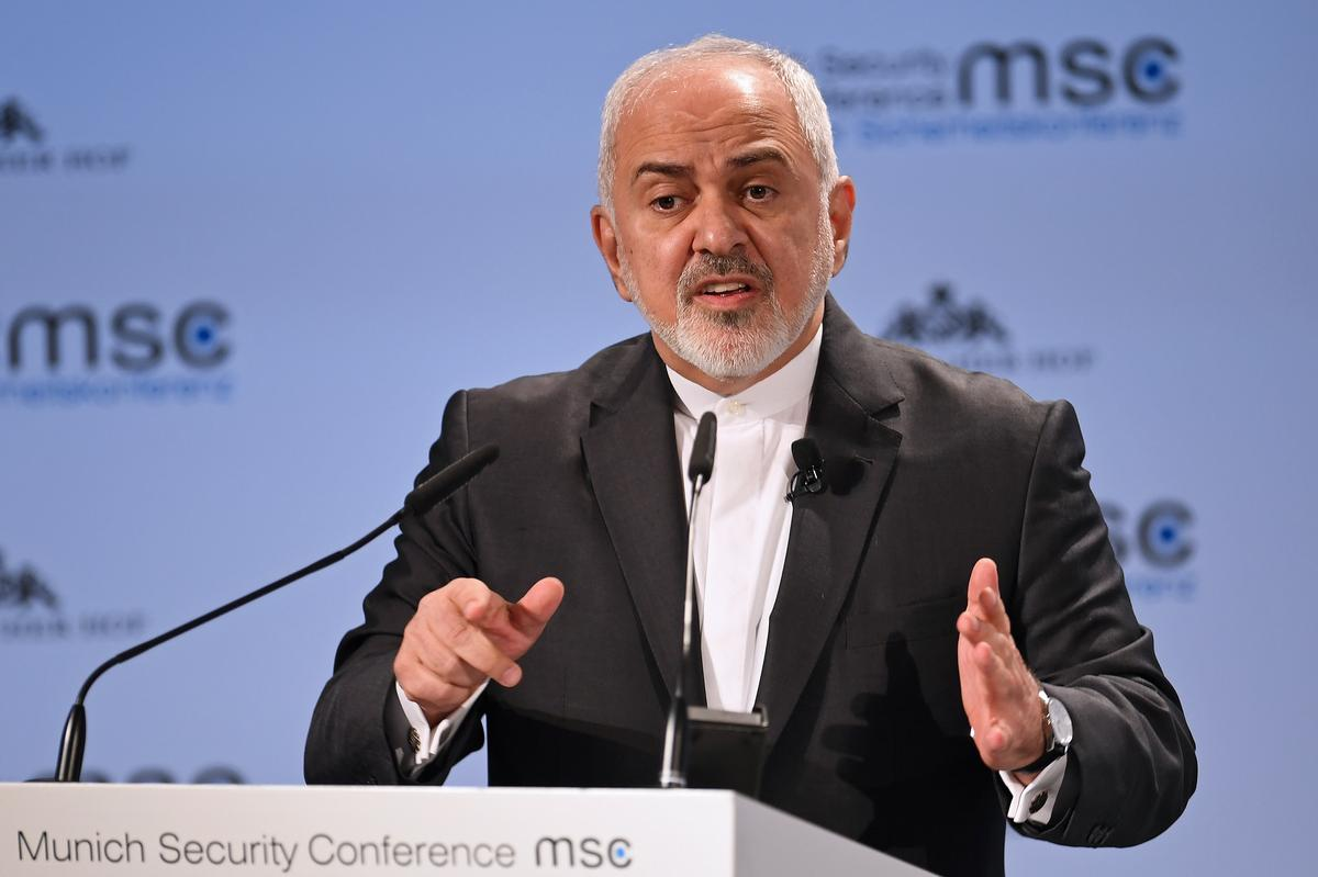 Iran's Rouhani rejects resignation of ally Zarif, says he is not alone