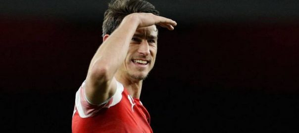 PREMIER LEAGUE Arsenal Laurent Koscielny Romelu Lukaku