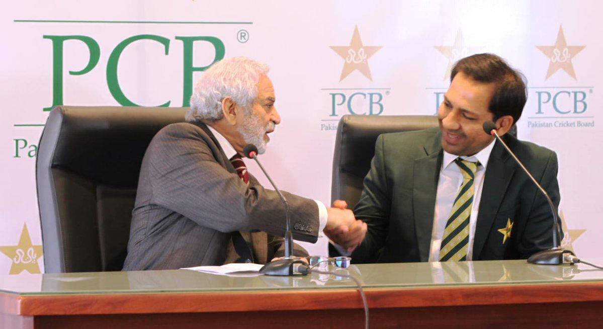 Sarfraz will be captain until World Cup 2019, says Ehsan Mani