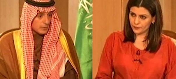 Credit, eliminating, terrorism, Pakistan, Saudi minister, Adel Al-Jubeir