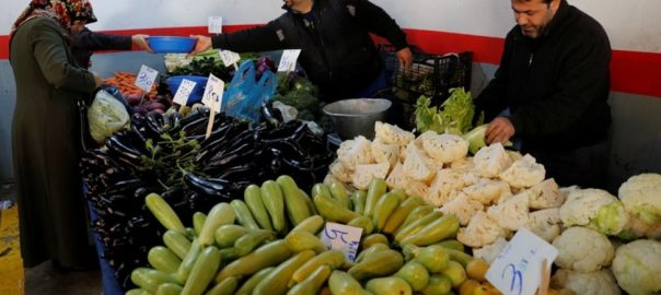 Turkey govt vegetable stalls inflation battle ANkara